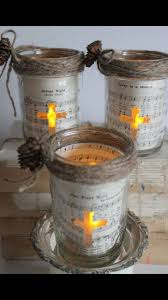 flameless candle holders for christmas so cute for teacher gifts