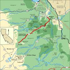 americas byways ebbetts pass scenic byway map america s byways