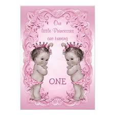 birthday invites latest twins first birthday invitations ideas