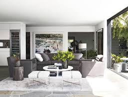 Home Interiors In Courteney Cox At Home In Her Malibu Beach House