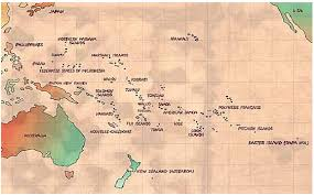 pacific region map south pacific regional environment programme sprep