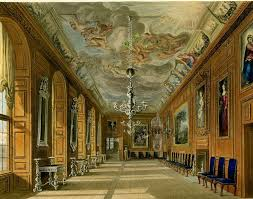 interior of eastnor castle in herefordshire england by augustus