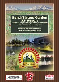 Three Sisters Garden Layout by Bend Sisters Garden Rv Resort Bend Campgrounds Good Sam Club