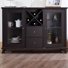 dining table with wine storage buffet cabinets new buffet table with wine rack â all furniture