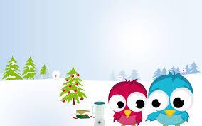 desktop cartoon bird wallpaper