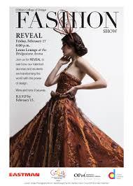 lexus nashville tn reveal of the 2017 o u0027more fashion show o u0027more college of design