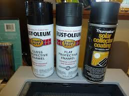 Heat Reflective Spray Paint - best solar collector absorber paint