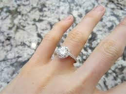 best diamond rings best engagement rings best engagement rings for fingers