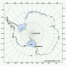 Map Of Antarctica Antarctica Provides Ice To Study Behavior Effects In Astronauts Nasa