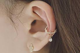 conch piercing cuff bijou drop ear cuff earrings mybodiart