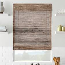 large window woven wood blinds u2014 home ideas collection to
