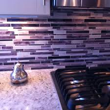 purple kitchen backsplash purple back splash for kitchen home