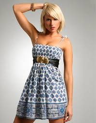 sun dress shirred border print sundress weekend designer