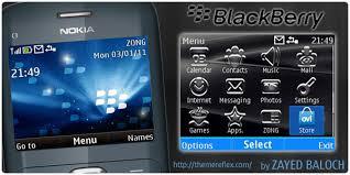 themes mobile black berry blackberry nokia c3 themes hasan baloch