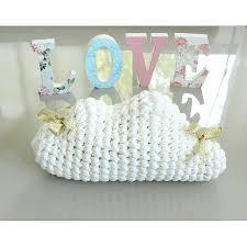coussin chambre bébé nuage déco bébé décoration décoration chambre enfant décoration