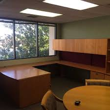 U Shaped Desk Used Kimball Desks Orlando Used Maple U Shaped Desk Florida U