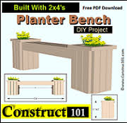 free planter plans build it yourself projects