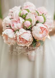 wedding flowers peonies artificial peony bridal bouquet best artificial peonies ideas on