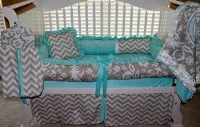 Sock Monkey Baby Bedding Custom Crib Bedding Carsyn Set Tiffany Minky Fabric Damask
