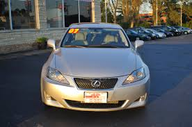 lexus sedan 2007 2007 lexus 250 silver used sport sedan car sale