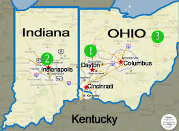 Map Of Ohio And Indiana by Road Trip Part 4 Indianapolis Sometimes Martha Always Mary