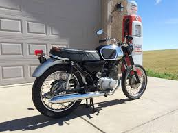 1965 Honda 150 1966 Honda Ca95 Benly 150cc Twin Cylinder With 4 Speed