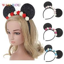 two ear hairstyle baby girl kids cute supreme headband bebe infant two ears headbands