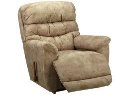 Lazy Boy Leather Sofa by Slumberland La Z Boy Joshua Collection Pewter Rocker Recliner