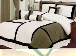 photos of contemporary comforter sets black and white