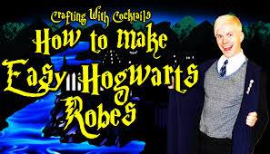 diy harry potter robes part 1 crafting with cocktails 3 12