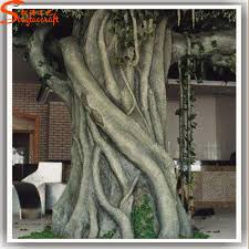 alibaba china realistic artificial tree bark without leaves
