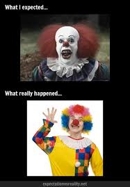 Creepy Clown Meme - dressing up as a scary clown meme guy