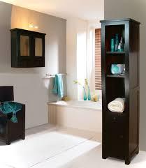 apartment therapy small bathroom storage white ceramic vessel