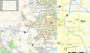 Map Colorado by Colorado State Highway 391 Wikipedia