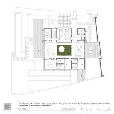 Atrium House by Galería De Casa Olivo Log Urbis 32 Logs Atrium House And