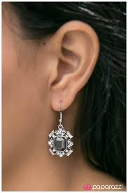 buckingham earrings paparazzi accessories buckingham palace silver