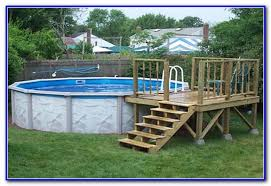 pool plans free above ground pool decks plans free download page best home