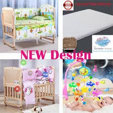 Baby Cot Bedding Sets Qoo10 Baby Cot Bedding Set Baby Maternity