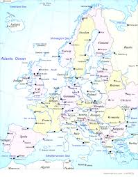 Map Of Germany In Europe by Political Map Of Europe Royalty Free Stock Photo In European