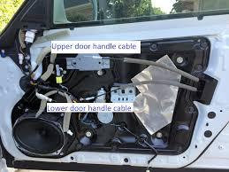how to remove interior door panels front doors m37 m56 q70