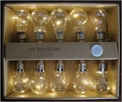 light bulbs and batteries string of led light bulbs 10 bulbs ready to hang for custom craft