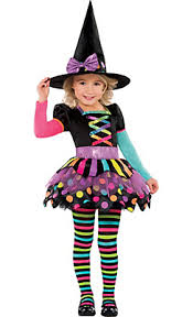 Halloween Costumes Toddlers Girls Toddler Girls Matched Witch Costume Halloween