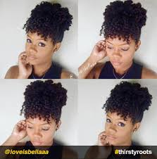 natural hair bun styles with bang 13 natural hair updo hairstyles you can create