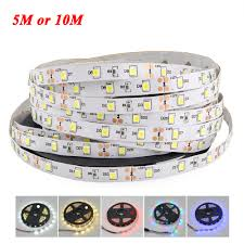 smd led strip light 1roll 5m or 2roll 10m 2835 3528 smd more brighter than 5050 5630