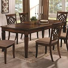 transitional dining room sets coaster home furnishings transitional dining table