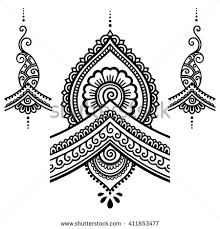 henna vector stock vectors u0026 vector clip art shutterstock