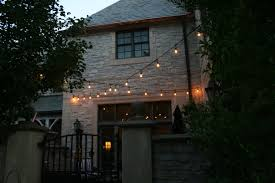 Patio Cafe Lights by Memphis String Patio Lighting Can Create The Perfect Party