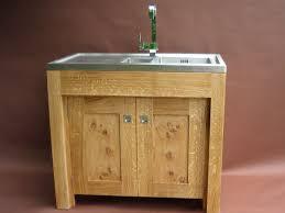 Kitchen Sink Cabinets Free Standing Kitchen Sink Unit 20 Wooden Free Standing Kitchen