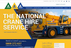 ainscough crane hire news our new website has launched