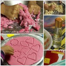 recipe and tips for uncooked salt dough using